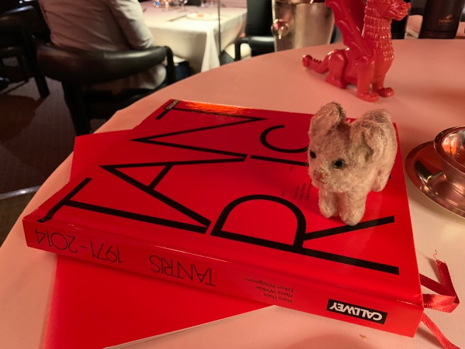 Frankie looked at the cookbook