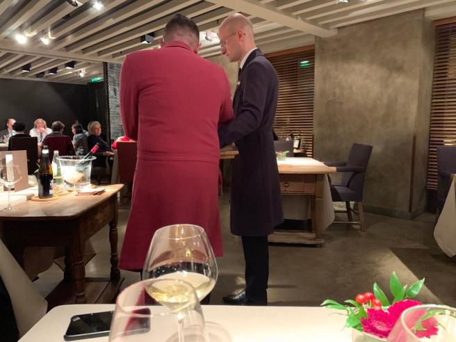 somm's red coat