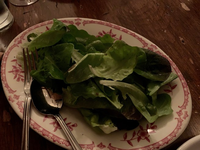 Profound Farms greens with garlic, lemon, anchovy, olive oil