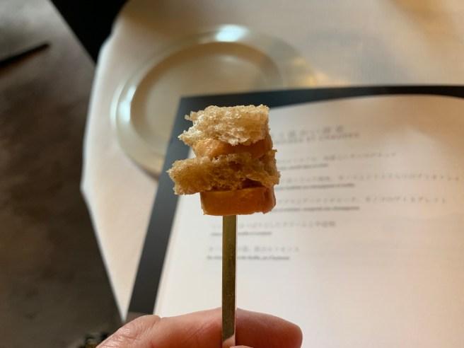 foie gras amuse