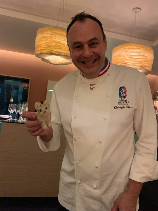 Chef Christophe Roure of Restaurant Le Neuvieme Art