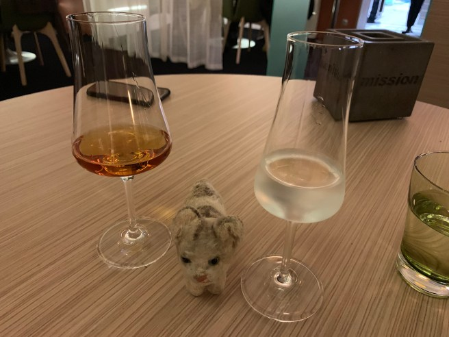 Frankie wanted to taste the after dinner drinks