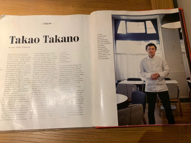 article on chef Takano
