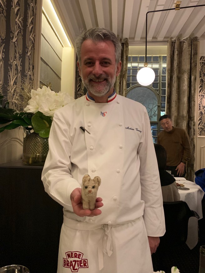 Chef Mathieu Viannay and Frankie