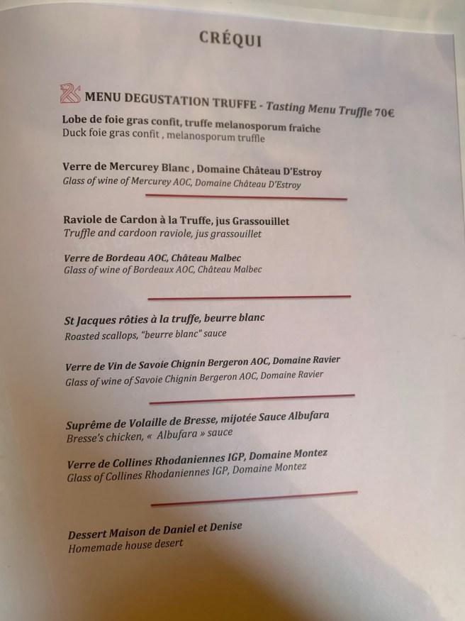 menu 9