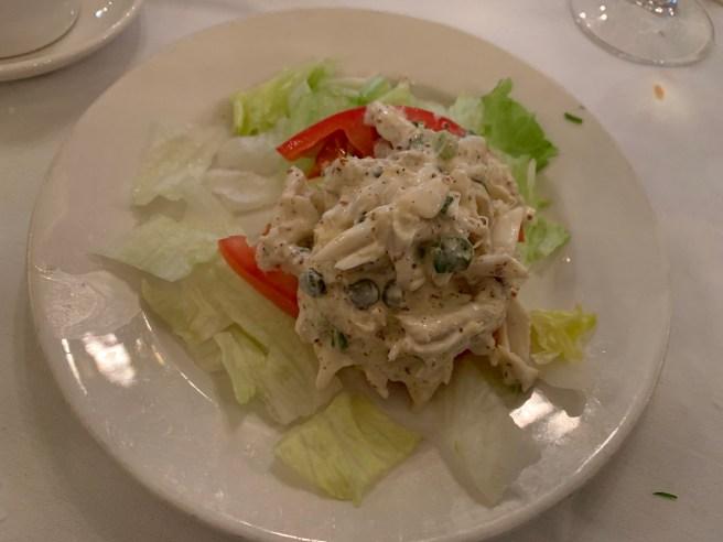 crab (half of order)