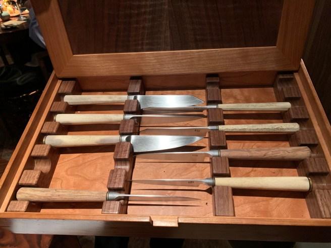 pick a knife