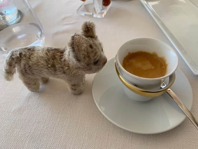 Frankie wanted coffee