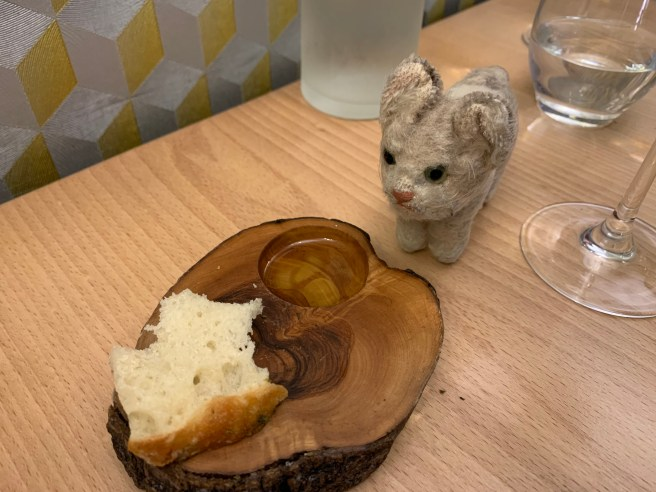 Frankie wanted some bread