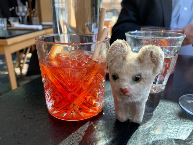 Frankie and negroni