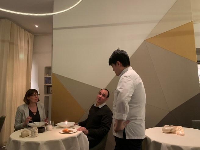 chef visits