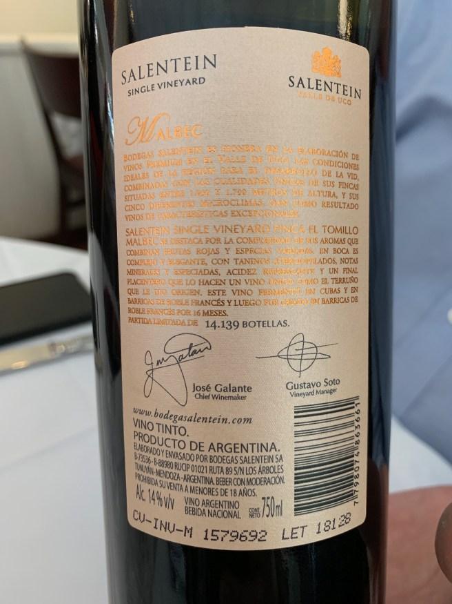 wine back