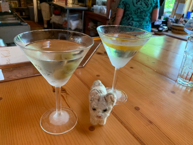 Frankie and some martinis