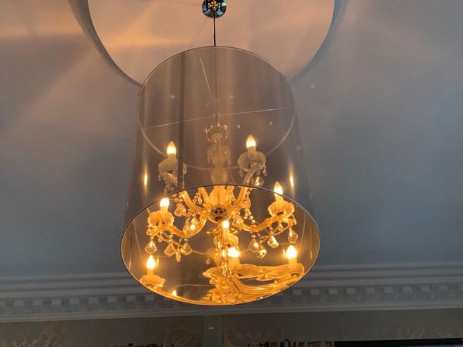 side chandelier