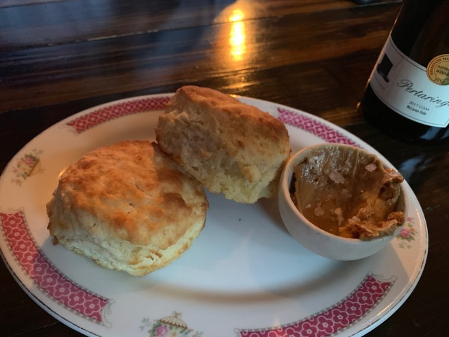 biscuits and butter
