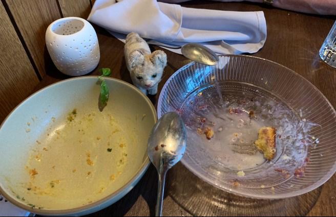 Frankie liked dessert