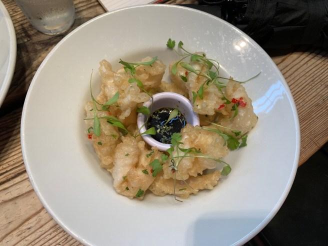 tempura squid
