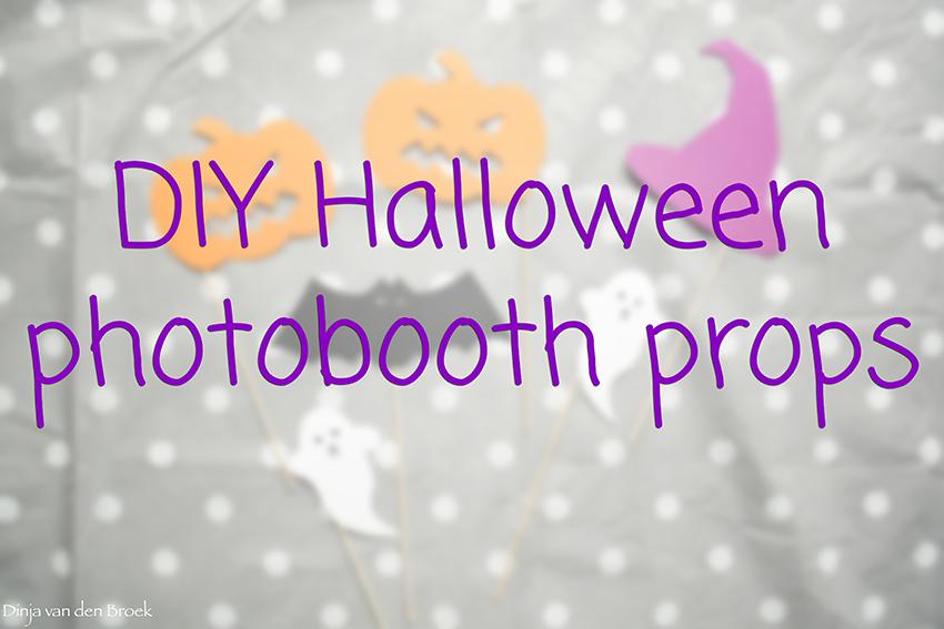 Halloween Figuurtjes Maken.Diy Halloween Photobooth Props Dinjadonut
