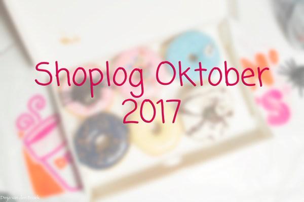 Shoplog Oktober 2017