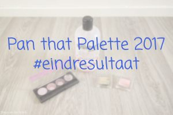 Pan that Palette eindresultaat
