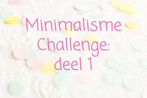 Minimalisme Challenge