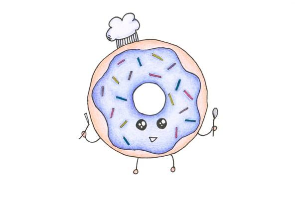 Donut tekeningen comeback