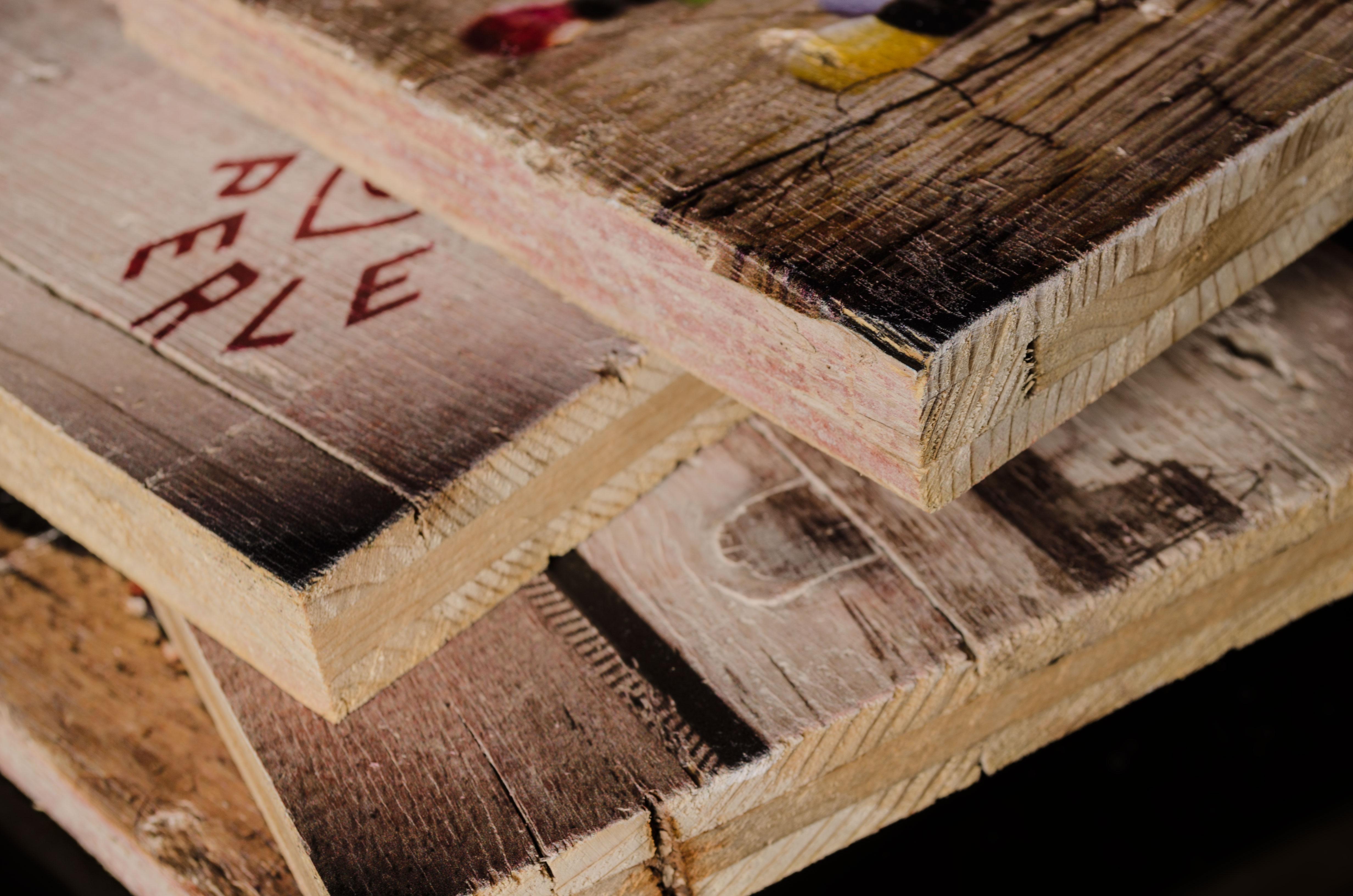 Holzdruck individuell  Druck auf Holz