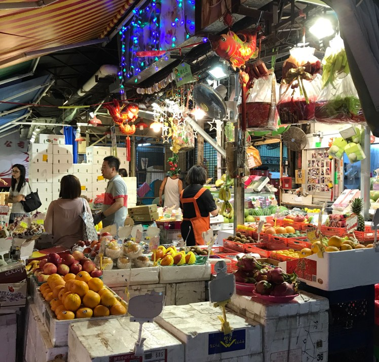 Hong Kong Vegetable Market