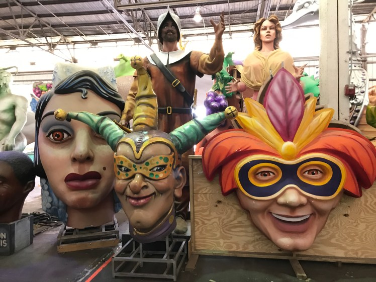 Mardi Gras World in New Orleans is a fantastic place to visit year round