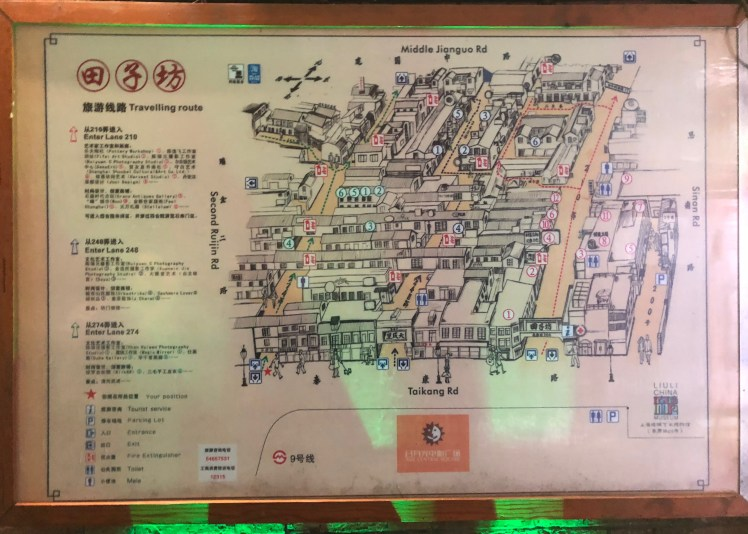 Tianzifang Map