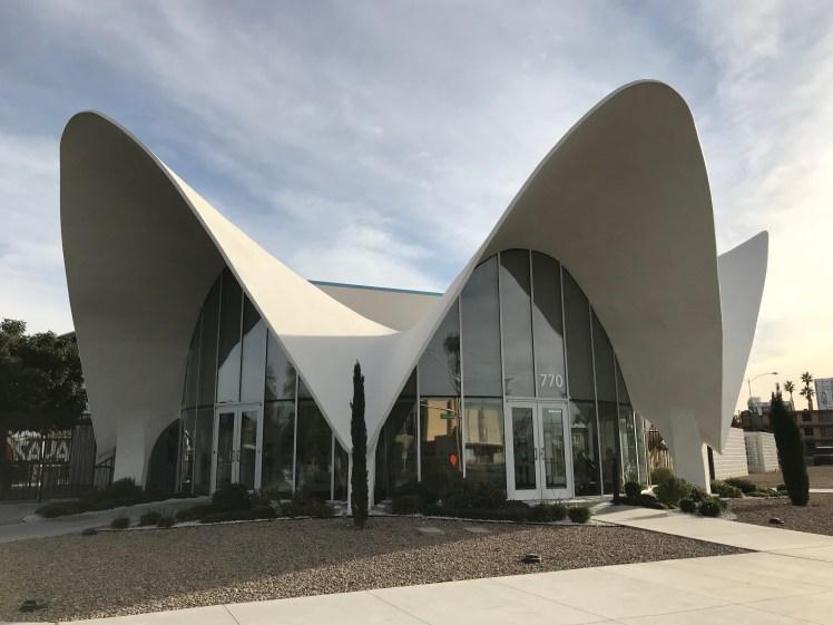 Las Vegas Neon Museum Lobby building