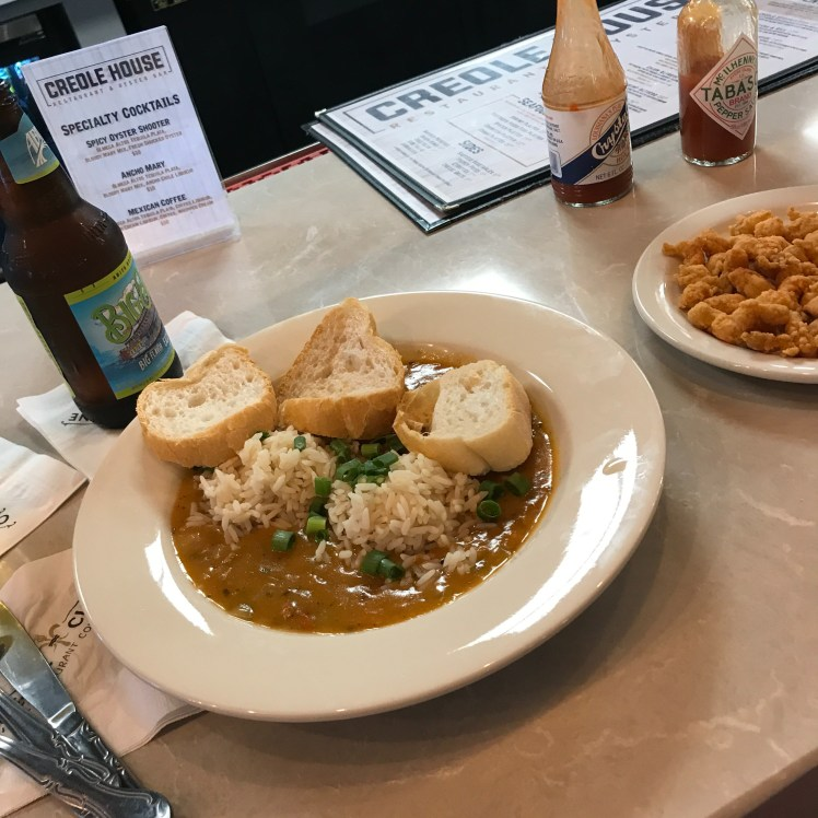 Super tasty étouffée at Creole House