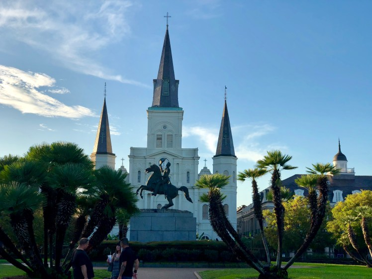 St Louis Cathedral on Jackson Square is a New Orleans landmark