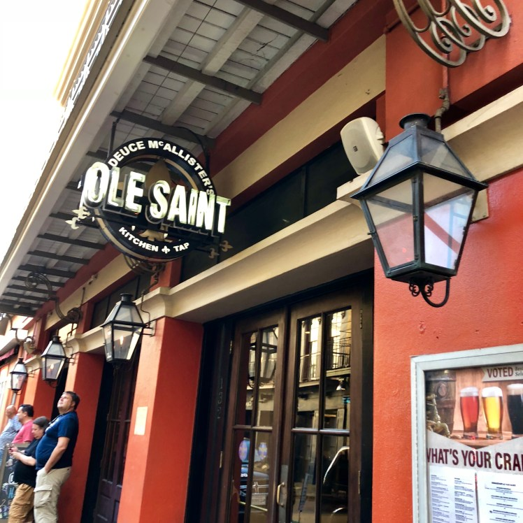 Ole Saint offers an impressive tap selection
