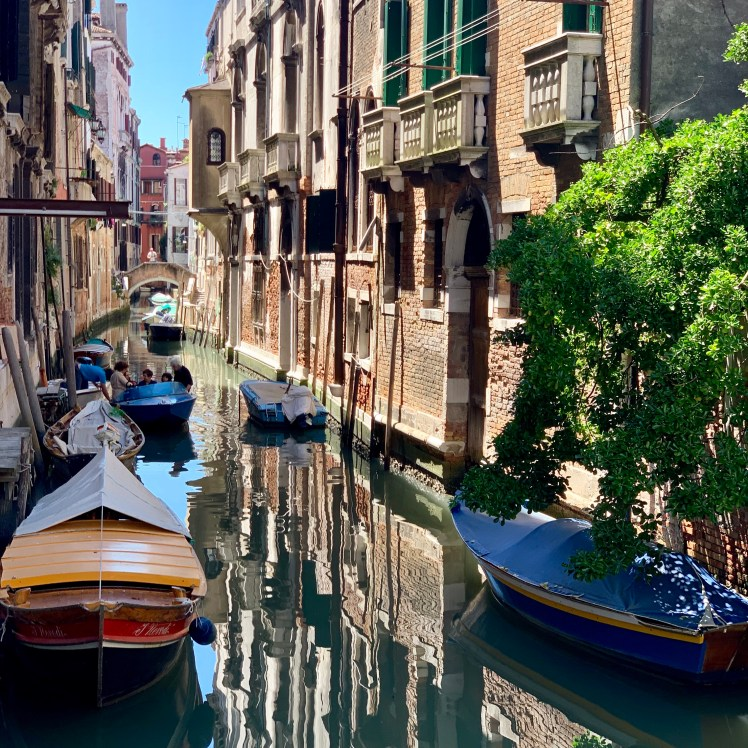 Venice is full of canals