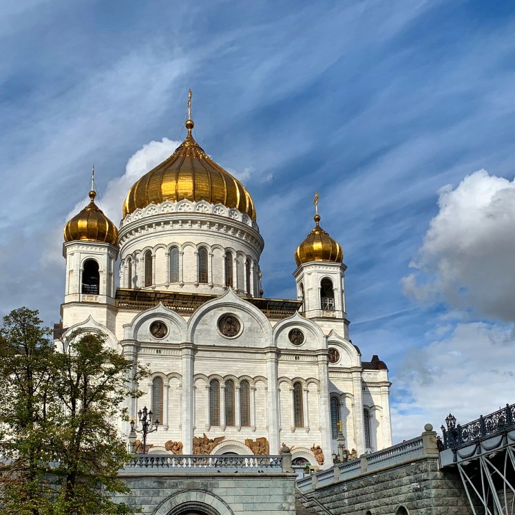 Cathedral of Christ the Savior we saw on our Moscow City Break
