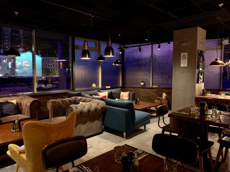 Penta Hotel Moscow lobby bar