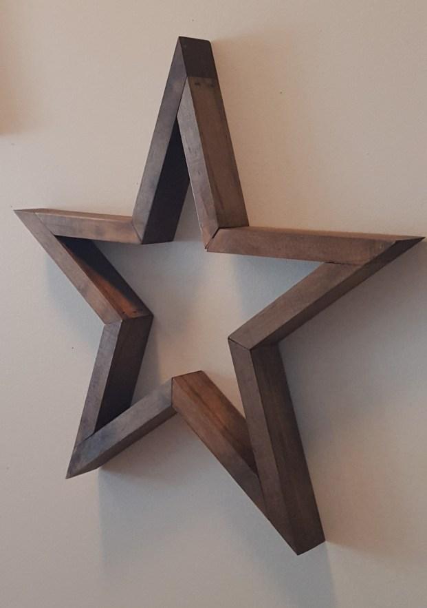 Wood Stars DIY