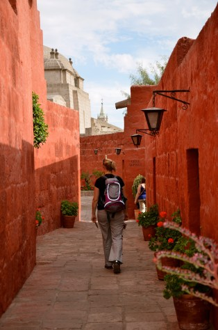 Santa Catalina Monastery in Arequipa - definitely worth a half day of exploring
