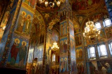 Inside the Church on Spilled Blood