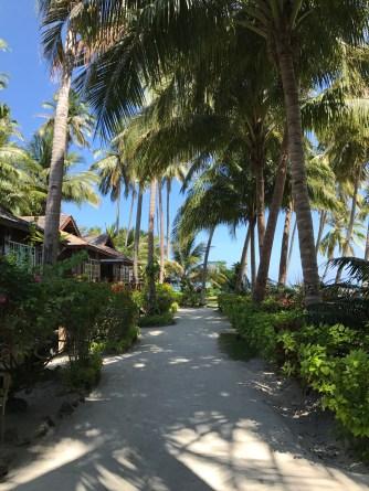 A fancy resort 2 minutes away