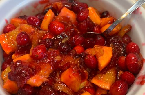 easy make ahead cranberry sauce