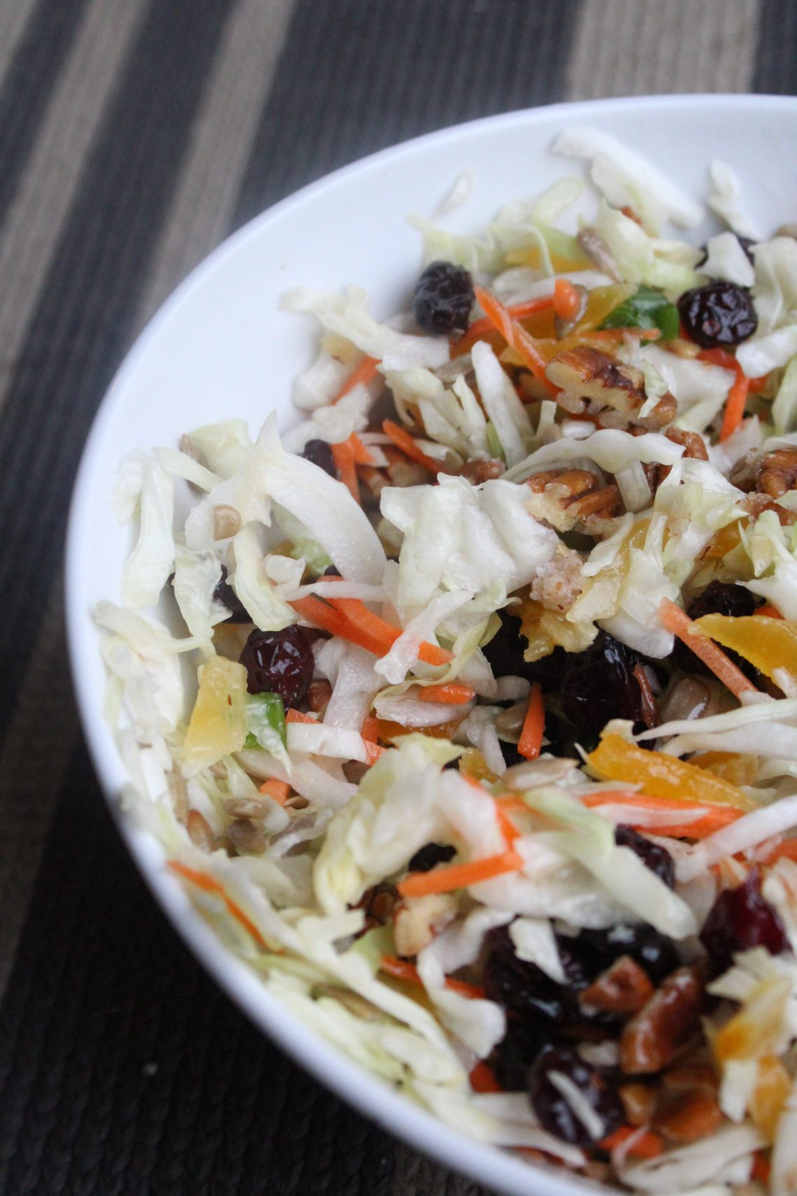fresh and easy tropical slaw