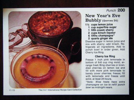new year's bubbly