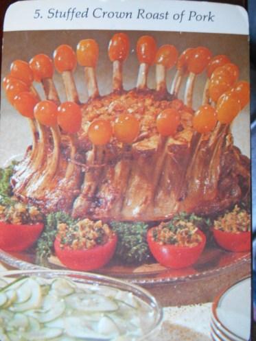 5. Stuffed Crown Roast of Pork