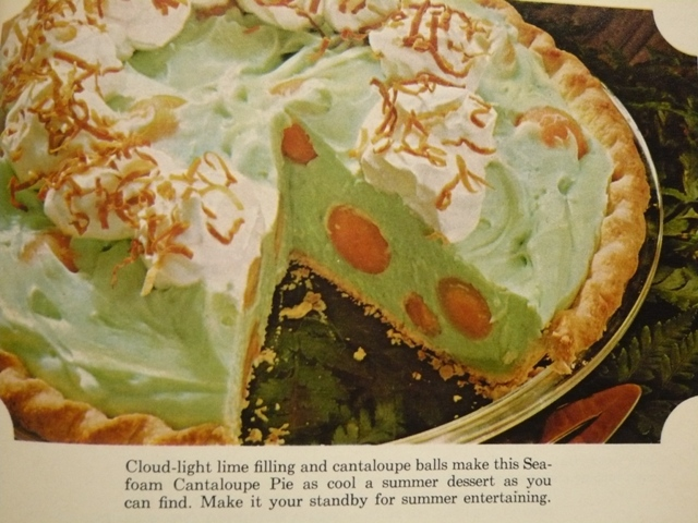 First Annual Pieathalon Seafoam Cantaloupe Pie Dinner Is Served 1972 However, was my several years back, i was searching for a cantaloupe pie recipe to surprise my grandmother. seafoam cantaloupe pie