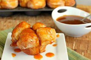 Pumpkin Caramel Monkey Bread Muffins