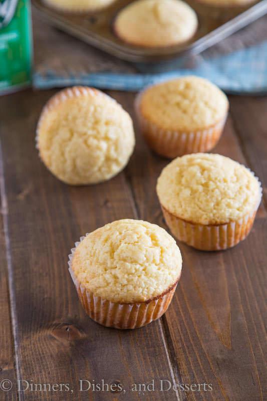 Eggnog Muffins - all the flavors of eggnog in a super tender muffin