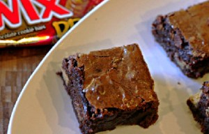 Twix Peanut Butter Brownies