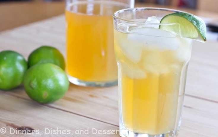 Swanky Caribbean Lemonade